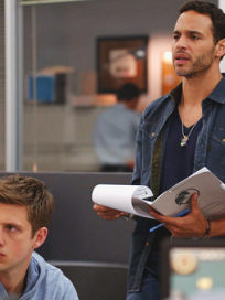 Aaron-tveit-and-daniel-sunjata-on-graceland