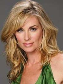 Eileen Davidson in Green