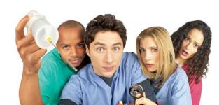The scrubs crew