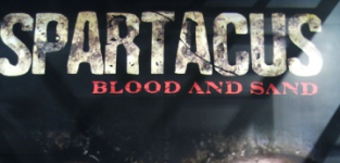 Spartacus blood and sand poster