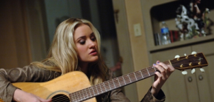AJ Michalka on Hellcats