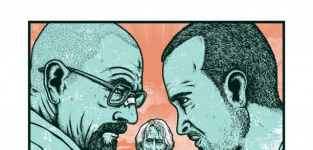 Breaking bad comic con poster