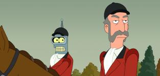 Patrick Stewart on Futurama