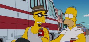 Homers cool new friend