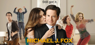 The michael j fox show poster
