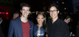 The Flash at TCA party