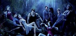 True blood cast poster