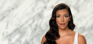 Close up of kim keeping up with the kardashians s9e20