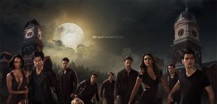 The vampire diaries season 6 poster