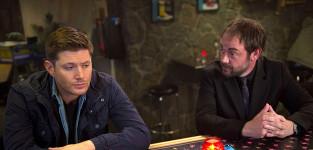 Crowley talks to dean supernatural