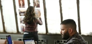 Huck and quinn work the case scandal s4e3