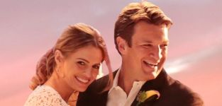 Caskett wedding photo castle s7e6