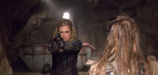Clarke takes her shot the 100
