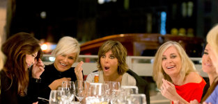 A riverboat dinner the real housewives of beverly hills