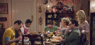 The family dinner the big bang theory