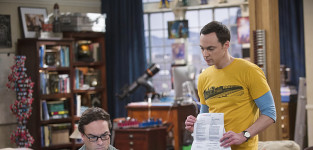 Sneaking a peek the big bang theory s8e18