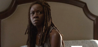 Michonne in alexandria the walking dead