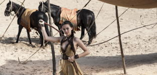 Jessica henwick as nym sand game of thrones
