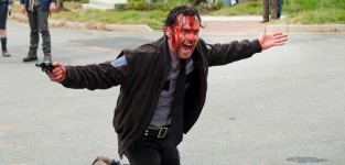Bloody rick grimes the walking dead s5e15