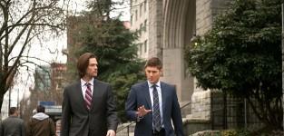 Sam and dean walking supernatural season 10 episode 16