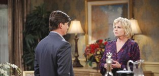 Lucas and adrienne clash days of our lives