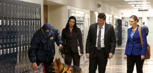 Booth and brennan bring in an fbi dog bones s10e12