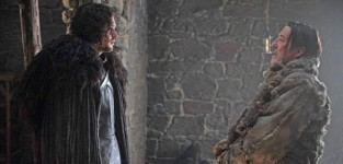 Jon Snow and Mance Rayder - Game of Thrones Season 5 Episode 1