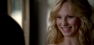 Candice Accola as Caroline Forbes -- The Vampire Diaries