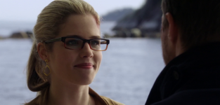 Emily Rickards as Felicity Smoak -- Arrow