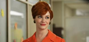 Christina Hendricks as Joan Harris -- Mad Men