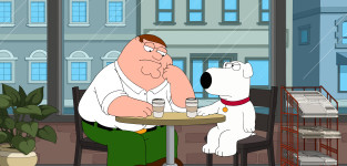 Bonding with Brian - Family Guy Season 13 Episode 16