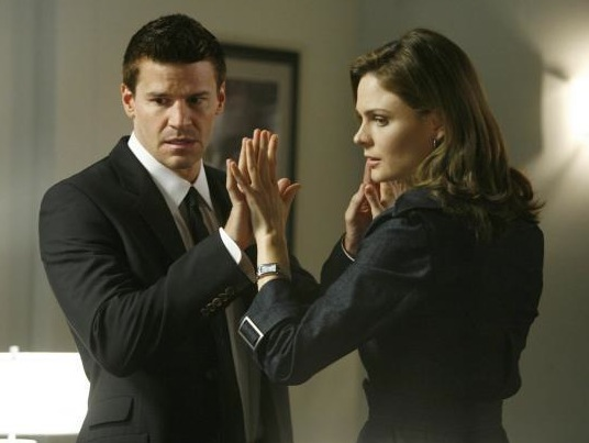 Booth and Brennan (Bones)