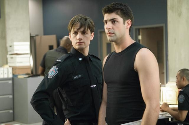 Dov and Chris (Rookie Blue - ABC)
