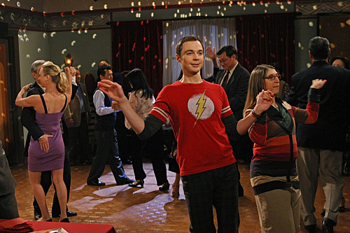 Sheldon and Amy Dance