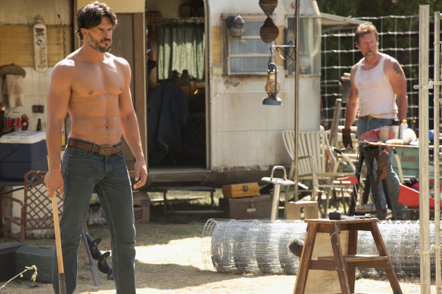 Alcide Shirtless