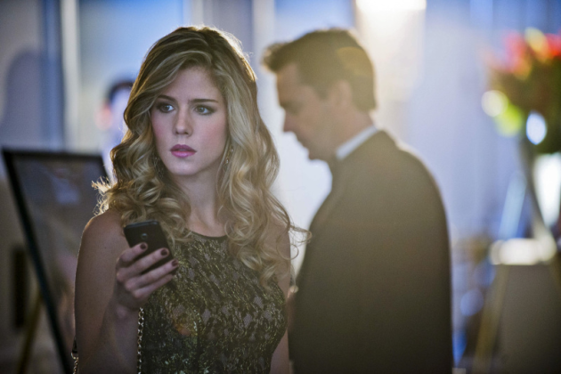 Emily Betts Rickard as Felicity on Arrow