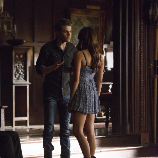 Stefan and Elena Scene