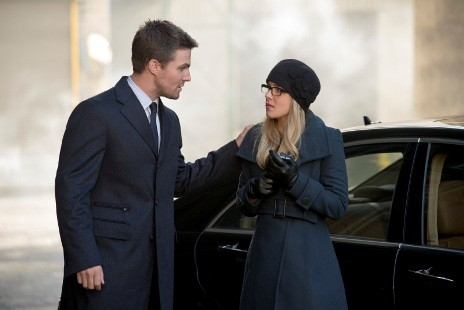 Oliver, Felicity and Laurel (Arrow)