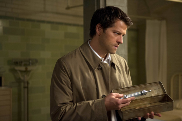 Castiel with a Needle