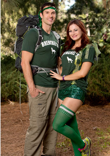Brendon Villegas and Rachel Reilly