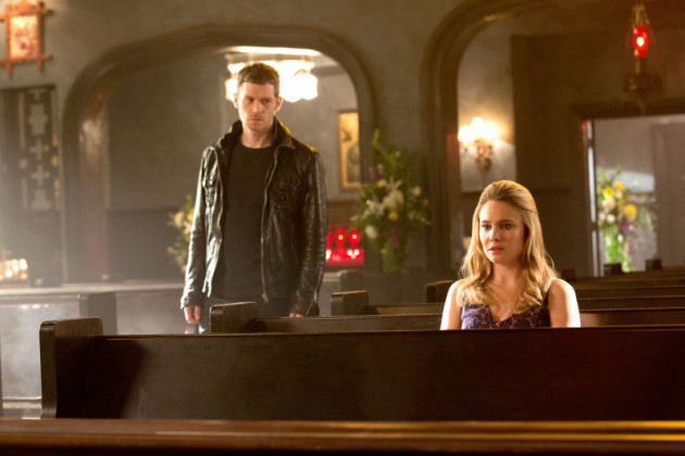 Klaus and Cami in Church