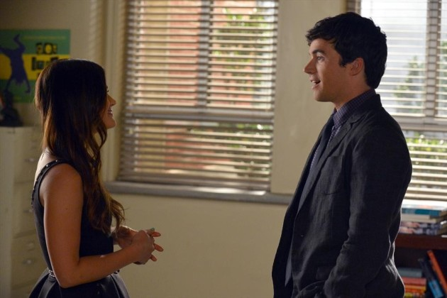 Aria and Ezra Scene