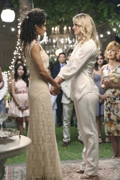 Lena and Stef (The Fosters)
