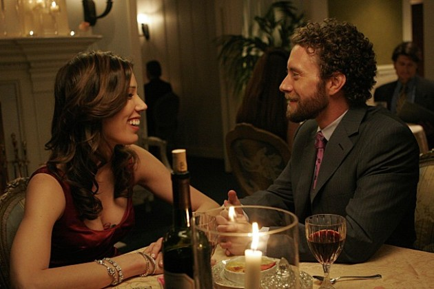 Hodgins and Angela (Bones)