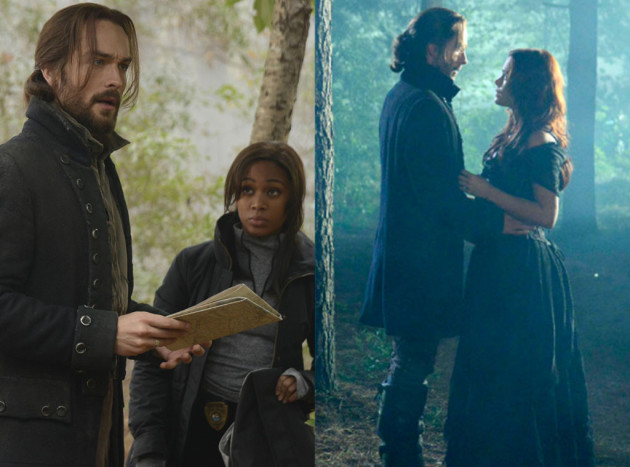 Ichabod, Abbie and Katrina (Sleepy Hollow)