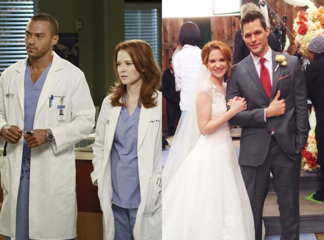 April, Jackson and Matthew (Grey's Anatomy)