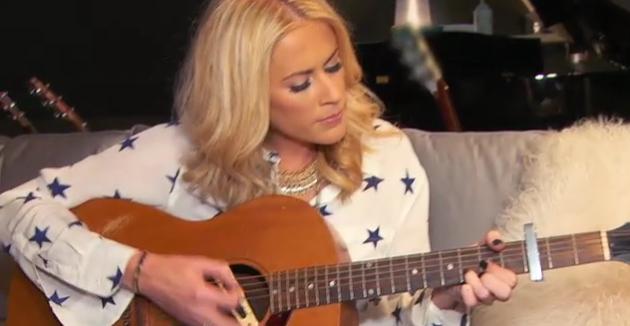 Sarah Davidson with a Guitar