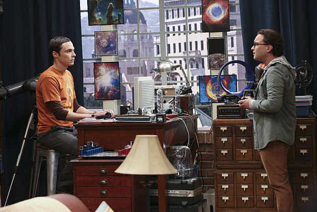 Leonard and Sheldon Have Discussion