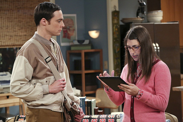 Sheldon Visits Amy