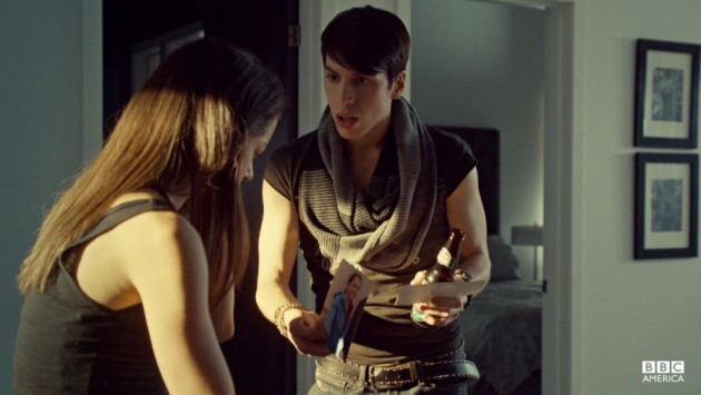 Jordan Gavaris as Felix on Orphan Black